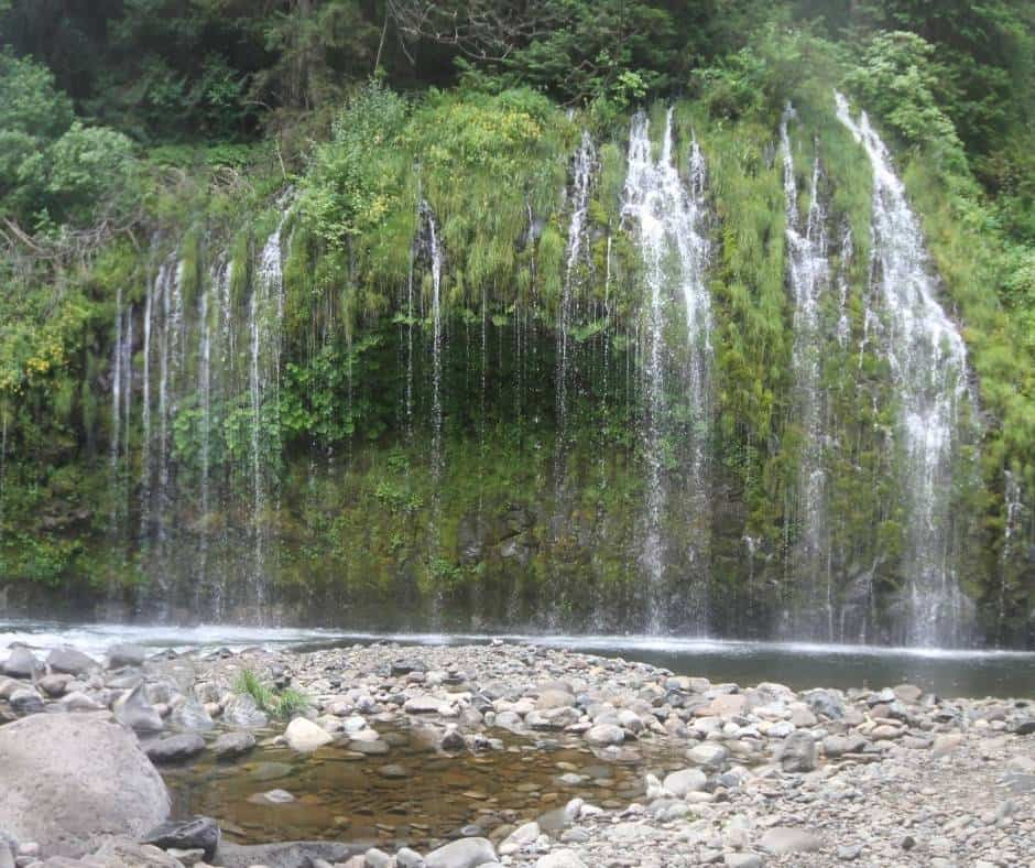 Mosbrae Falls is one of the most beaustiful waterfalls in Northern California.