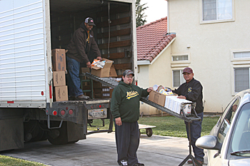 California Valley Miwok Tribe December USDA Food Distribution