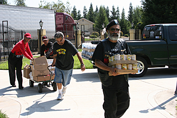 California Valley Miwok Tribe September 2011 Food Distribution