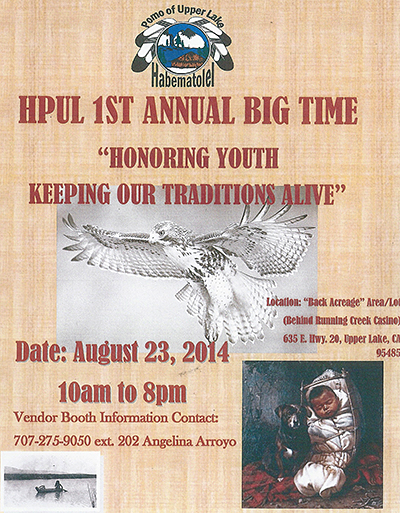 HPUL 1st Annual Big Time