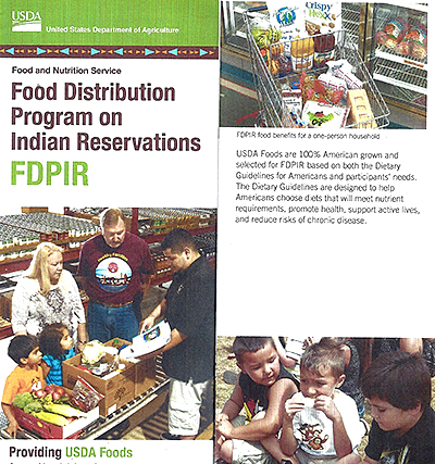 September 2014 USDA Food Distribution Program on Indian Reservations (FDPIR)