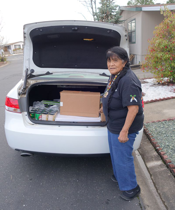 California Valley Miwok Tribe Delivers Food Supplies to Needy Tribal Families