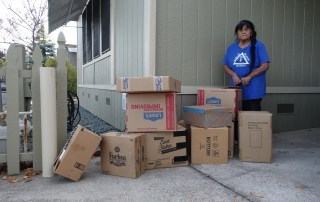 generous donations - Continuing abundance in the Food For Tribal Families Program