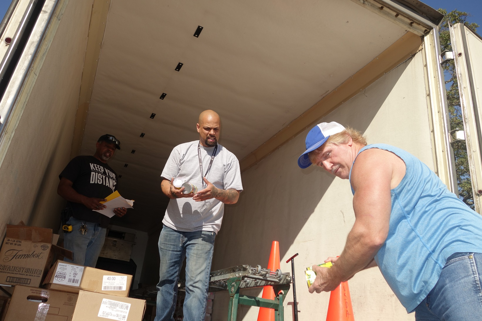 July 2020 USDA Food Distribution