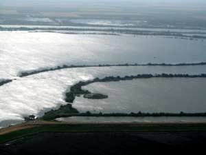 Owners abandoned the Delta's Liberty Island after it flooded in 1998. Source: Calif. Dept. of Water Resources.