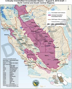 The California Department of Water Resources (DWR) recently reported that groundwater levels across most of the state have dropped 50 feet below historical lows, with levels in many areas of the San Joaquin Valley more than 100 feet below previous record lows. Source: DWR