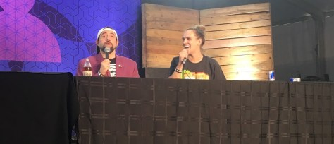 jay and silent bob on stage