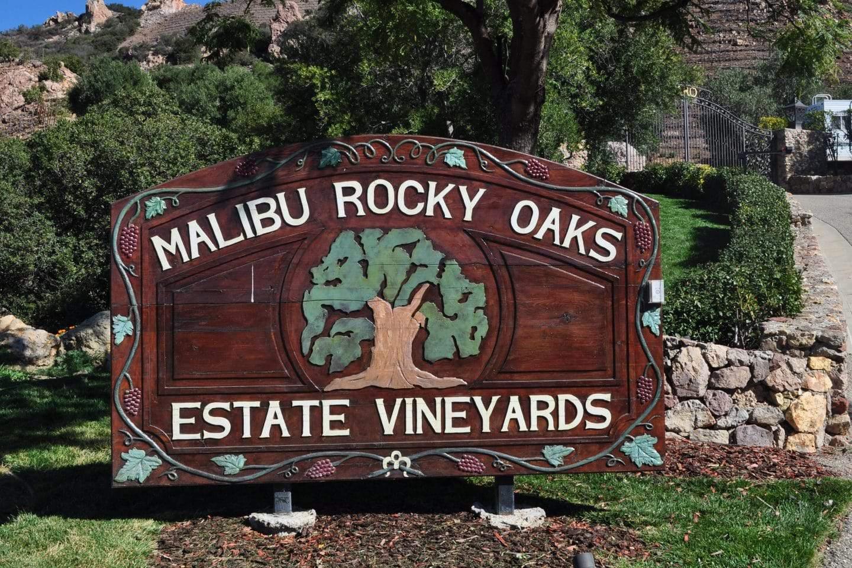 malibu rocky oaks vineyards