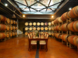 Monte de Oro barrel room w_ glass ceiling