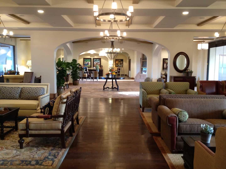 Ponte Vineyard Inn lobby Temecula