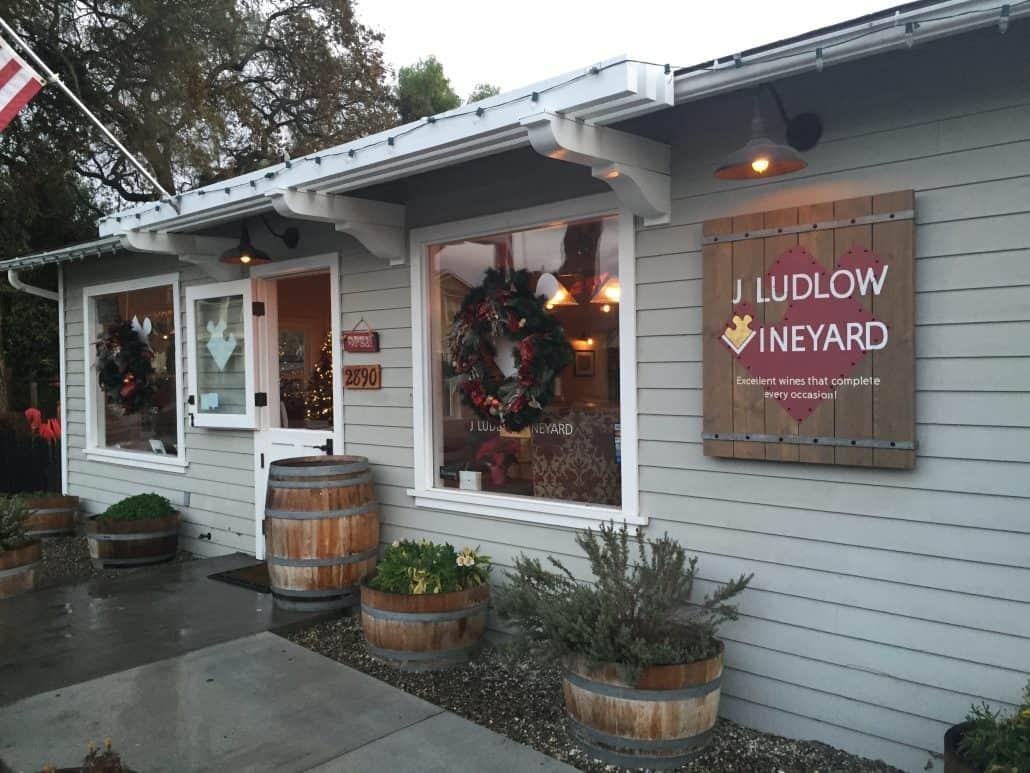 J. Ludlow tasting room