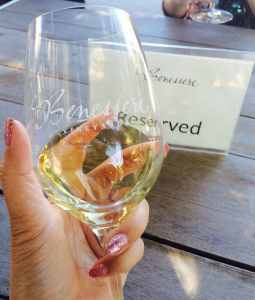 beneserre vineyards wine glass discount wine tasting