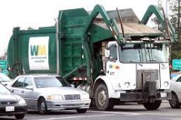camion poubelle LA