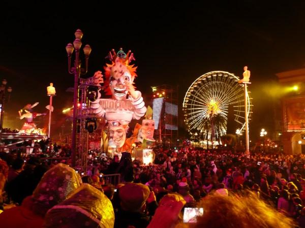Un char du Carnaval de Nice.