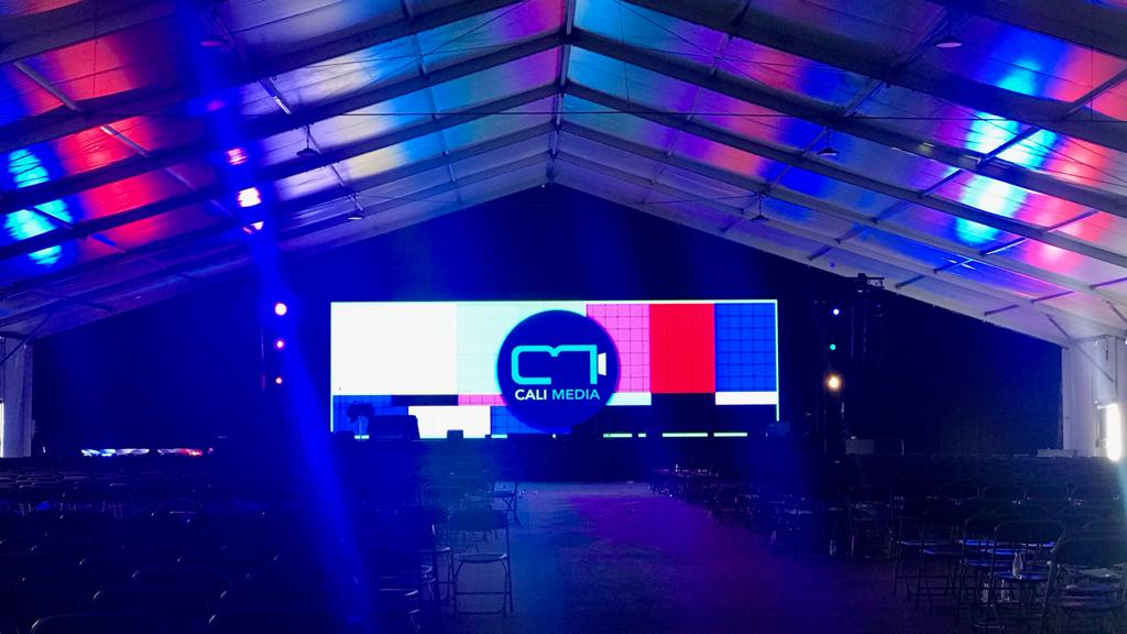 tent stage
