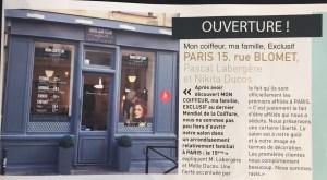 Nikita had her own hair salon in Paris for 4 years before selling or moving to the USA / Nikita a eu son propre salon de coiffure à Paris pendant 4 ans avant de le vendre pour venir s'installer aux USA.