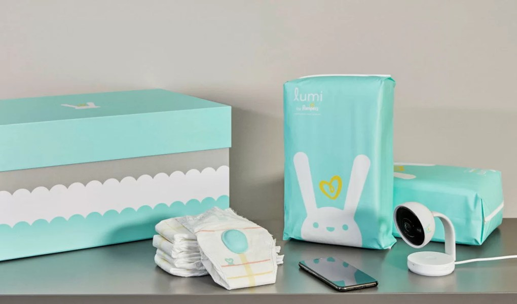lumi couches connectées pampers