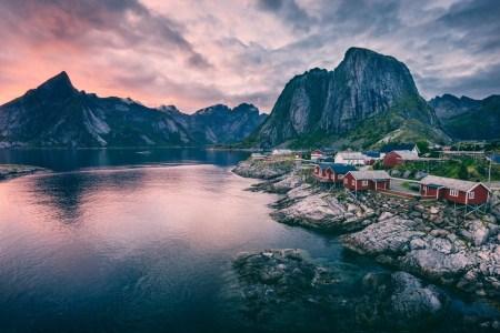 paysage fjords norvège