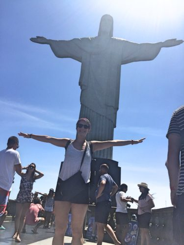 Me and Christ the Redeemer