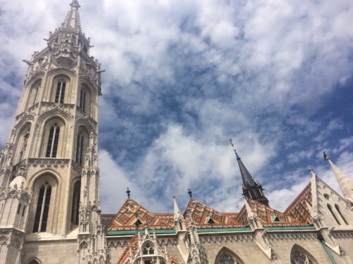 Matthias Church on free walking tour