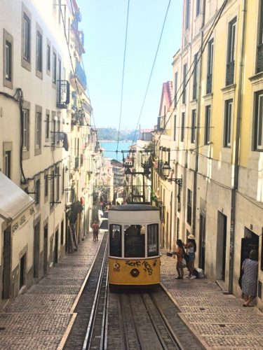 Trolley in Lisbon