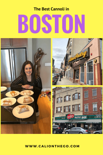Mike's vs. Modern pastry make up the great Boston cannoli debate. Which is better? Are there other cannoli options in the North End?