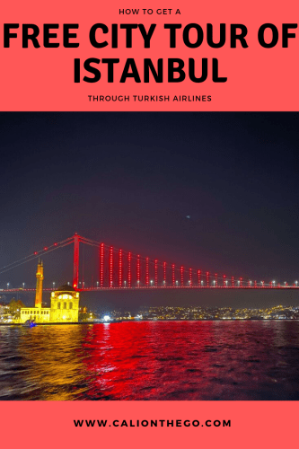 How to make the most of your long layover in Istanbul for free. This is the perfect way to explore the city while on a budget, courtesy of Turkish Airlines