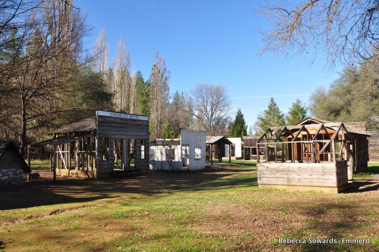 Old structures at Columbia State Historic Park