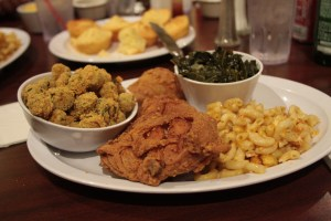Contemporary Soul Food Plate