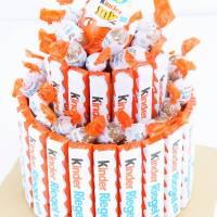 kinder Riegel-Torte selber machen - DIY Geschenkidee