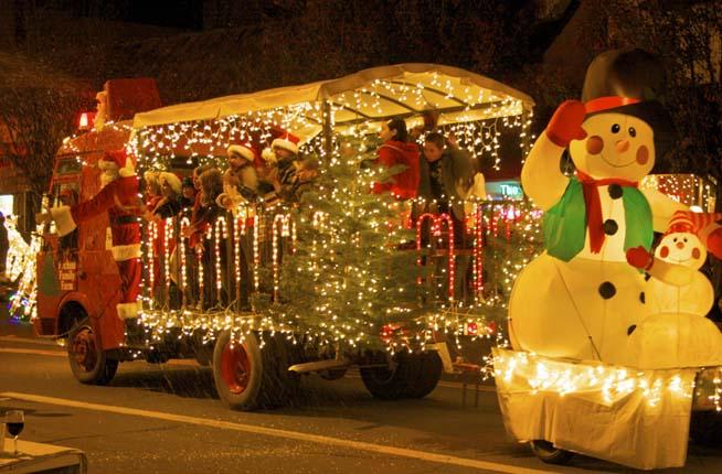 Old Fashioned Christmas In Calistoga Calistoga Visitors