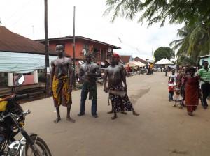 Local warriors strutting their stuff