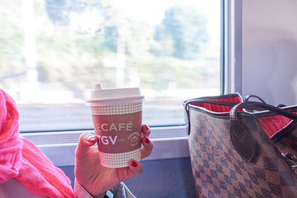 nice to paris by train