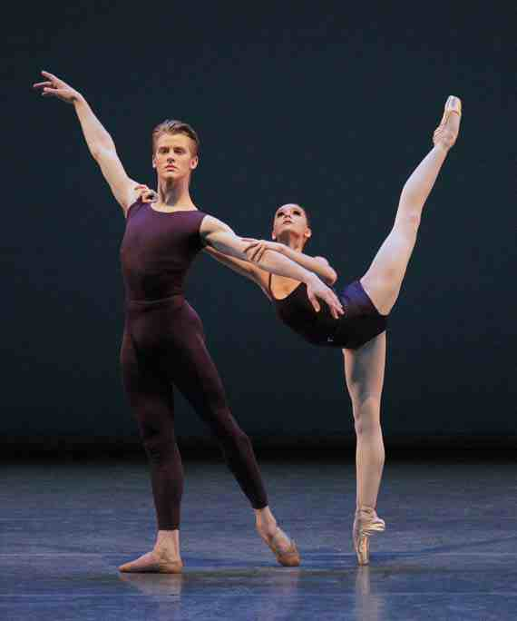 NYCB, Chase Finlay and Lauren Lovette in Polyphonia