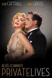 Theater poster: Private Lives