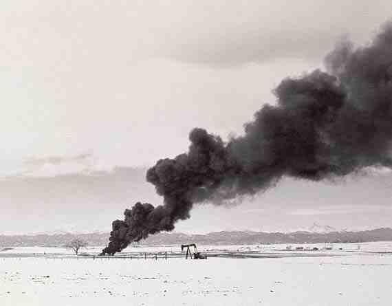Adams: Burning Oil Sludge North of Denver, Colorado