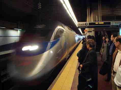 Amtrak Acela 30th st station philadelphia