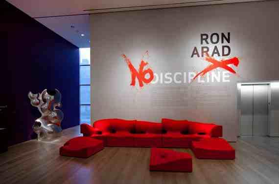 Ron Arad: No Discipline installation MoMA