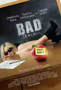 Movie Poster: Bad Teacher