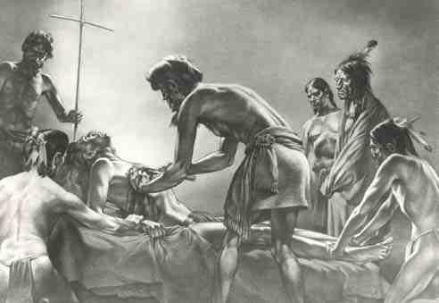 Four Shipwrecked Castaways Cross Sixteenth Century America 4