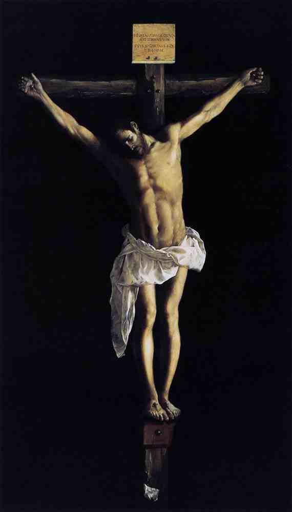Christ on the Cross (1627) by Francisco de Zurbarán