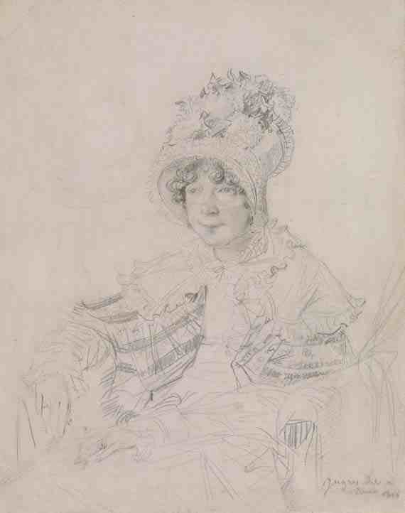 Jean-Auguste-Dominique Ingres, Lady Glenbervie