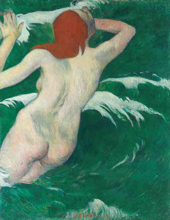 Paul Gauguin: Ondine In The Waves
