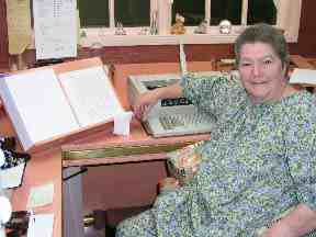 A Visit With Author Colleen McCullough 1