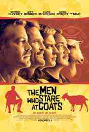 Movie Poster: The Men Who Stare at Goats