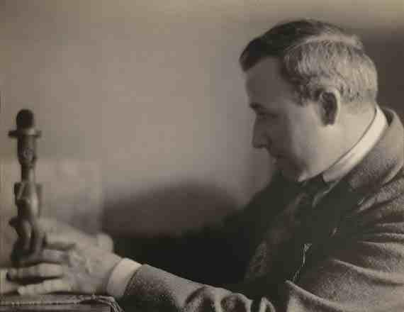 Portrait of Max Weber