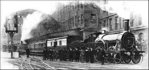 Train Leaving Paddington Station