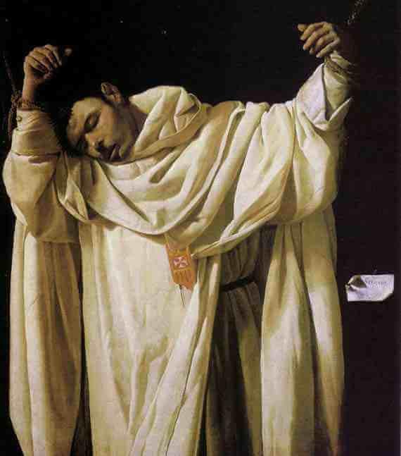 Saint Serapion (1628) by Francisco de Zurbarán