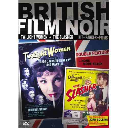 DVD Cover: British Noir Double Feature