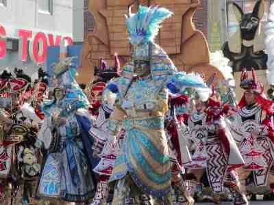 The South Philadelphia String Band in the 2005 Mummers Parade